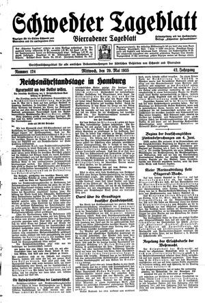 Schwedter Tageblatt vom 29.05.1935