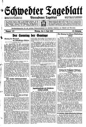 Schwedter Tageblatt vom 03.06.1935