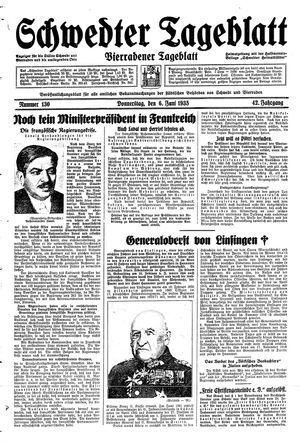 Schwedter Tageblatt vom 06.06.1935