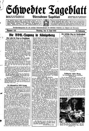 Schwedter Tageblatt vom 11.06.1935
