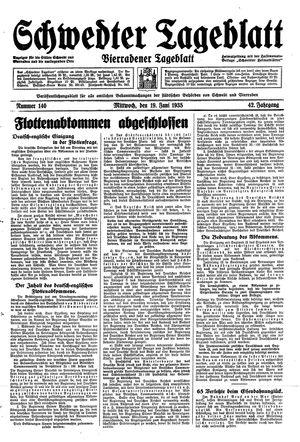 Schwedter Tageblatt vom 19.06.1935