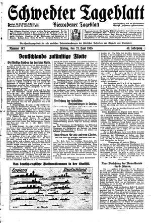 Schwedter Tageblatt vom 21.06.1935
