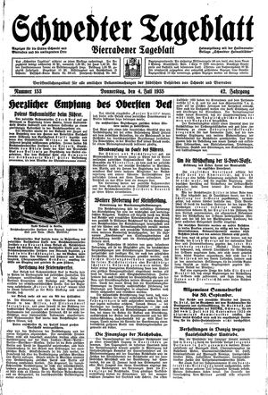 Schwedter Tageblatt vom 04.07.1935