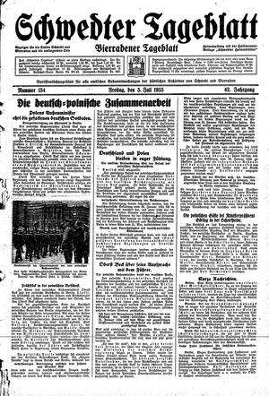 Schwedter Tageblatt vom 05.07.1935