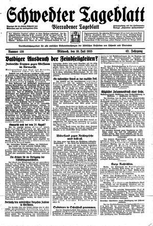 Schwedter Tageblatt vom 10.07.1935