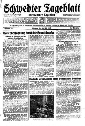 Schwedter Tageblatt vom 16.07.1935