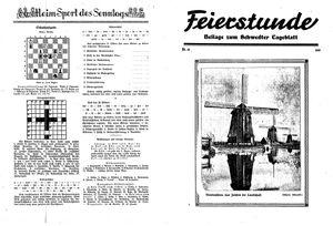 Schwedter Tageblatt vom 26.07.1935