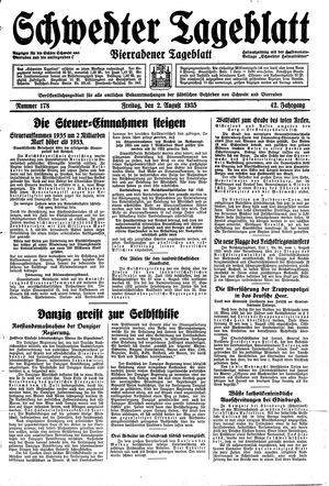 Schwedter Tageblatt vom 02.08.1935