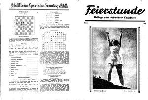 Schwedter Tageblatt vom 08.08.1935