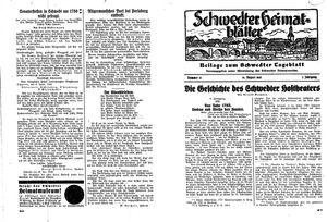 Schwedter Tageblatt vom 14.08.1935
