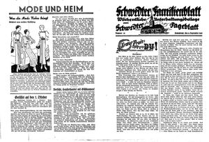 Schwedter Tageblatt vom 21.09.1935