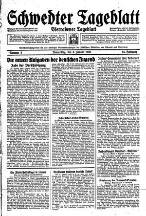 Schwedter Tageblatt vom 06.01.1938
