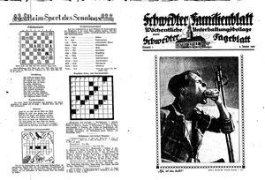 Schwedter Tageblatt vom 08.01.1938