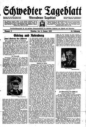Schwedter Tageblatt on Jan 11, 1938