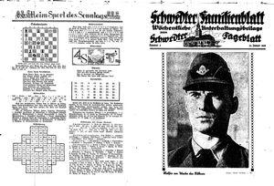 Schwedter Tageblatt vom 29.01.1938