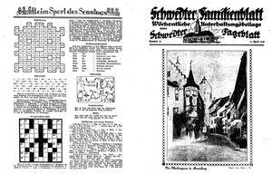 Schwedter Tageblatt vom 23.04.1938