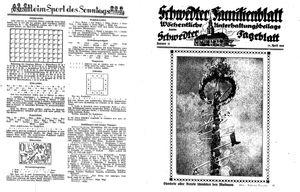 Schwedter Tageblatt vom 30.04.1938