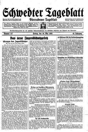 Schwedter Tageblatt vom 20.05.1938