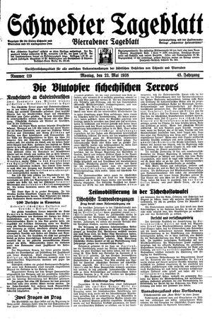 Schwedter Tageblatt vom 23.05.1938