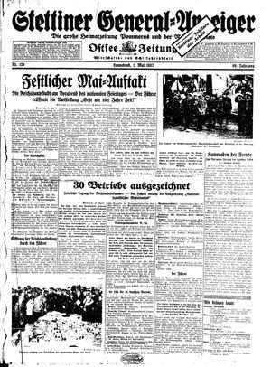 Stettiner General-Anzeiger vom 01.05.1937