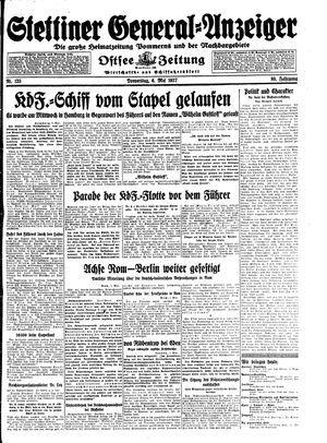 Stettiner General-Anzeiger vom 06.05.1937