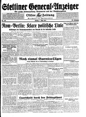Stettiner General-Anzeiger vom 07.05.1937