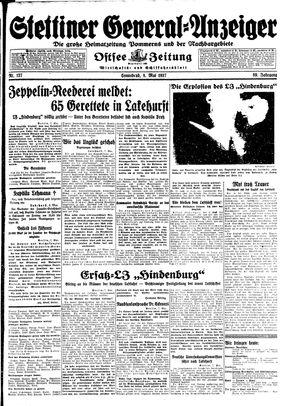 Stettiner General-Anzeiger vom 08.05.1937