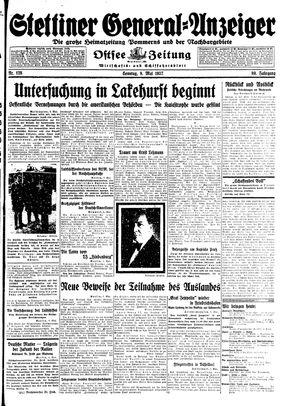 Stettiner General-Anzeiger vom 09.05.1937