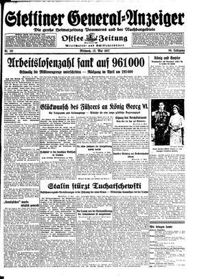 Stettiner General-Anzeiger vom 12.05.1937
