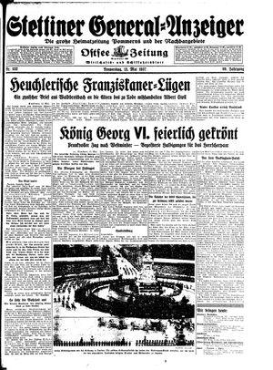 Stettiner General-Anzeiger vom 13.05.1937