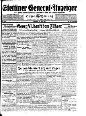 Stettiner General-Anzeiger vom 15.05.1937