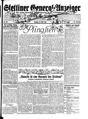 Stettiner General-Anzeiger vom 16.05.1937
