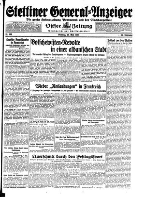 Stettiner General-Anzeiger on May 18, 1937