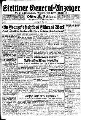 Stettiner General-Anzeiger vom 23.05.1937