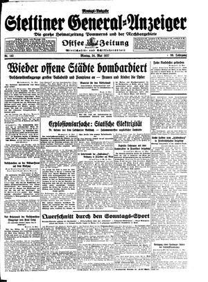 Stettiner General-Anzeiger vom 24.05.1937