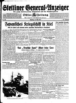 Stettiner General-Anzeiger vom 25.05.1937