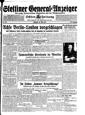 Stettiner General-Anzeiger vom 26.05.1937