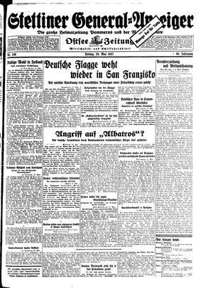 Stettiner General-Anzeiger vom 28.05.1937