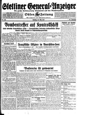 Stettiner General-Anzeiger vom 30.05.1937