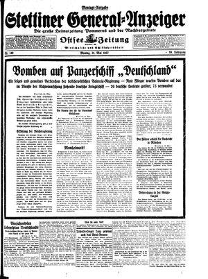Stettiner General-Anzeiger vom 31.05.1937
