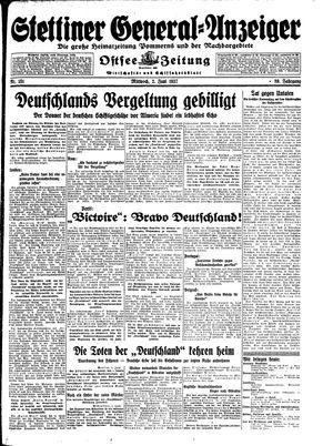 Stettiner General-Anzeiger vom 02.06.1937