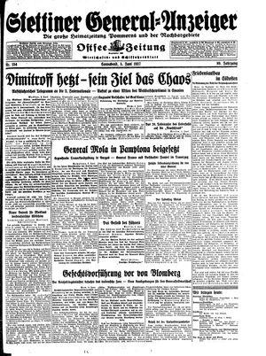 Stettiner General-Anzeiger vom 05.06.1937