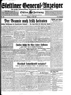 Stettiner General-Anzeiger vom 06.06.1937