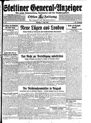 Stettiner General-Anzeiger vom 08.06.1937