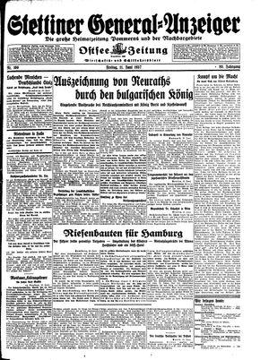 Stettiner General-Anzeiger vom 11.06.1937