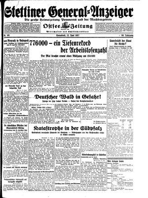 Stettiner General-Anzeiger vom 12.06.1937