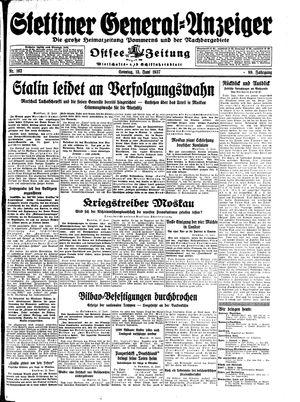 Stettiner General-Anzeiger vom 13.06.1937