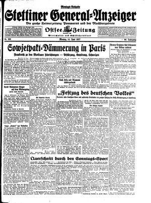 Stettiner General-Anzeiger on Jun 14, 1937
