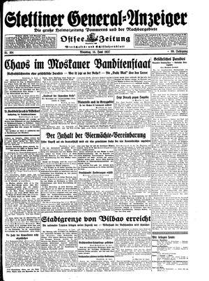 Stettiner General-Anzeiger vom 15.06.1937