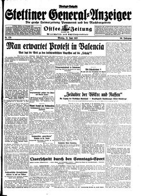 Stettiner General-Anzeiger vom 21.06.1937